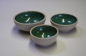 Set of Aqua Bowls