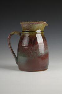Jug (Copper Red Reduction Glaze)