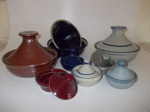 A selection of tagines